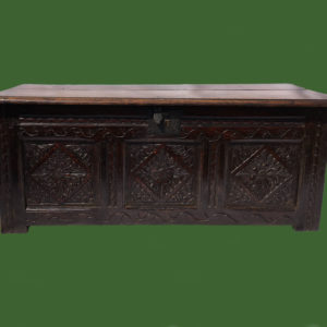 Oak Six Plank Coffer
