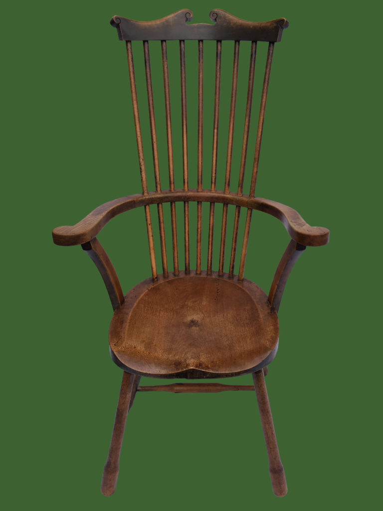 Stick Back Elbow Chair