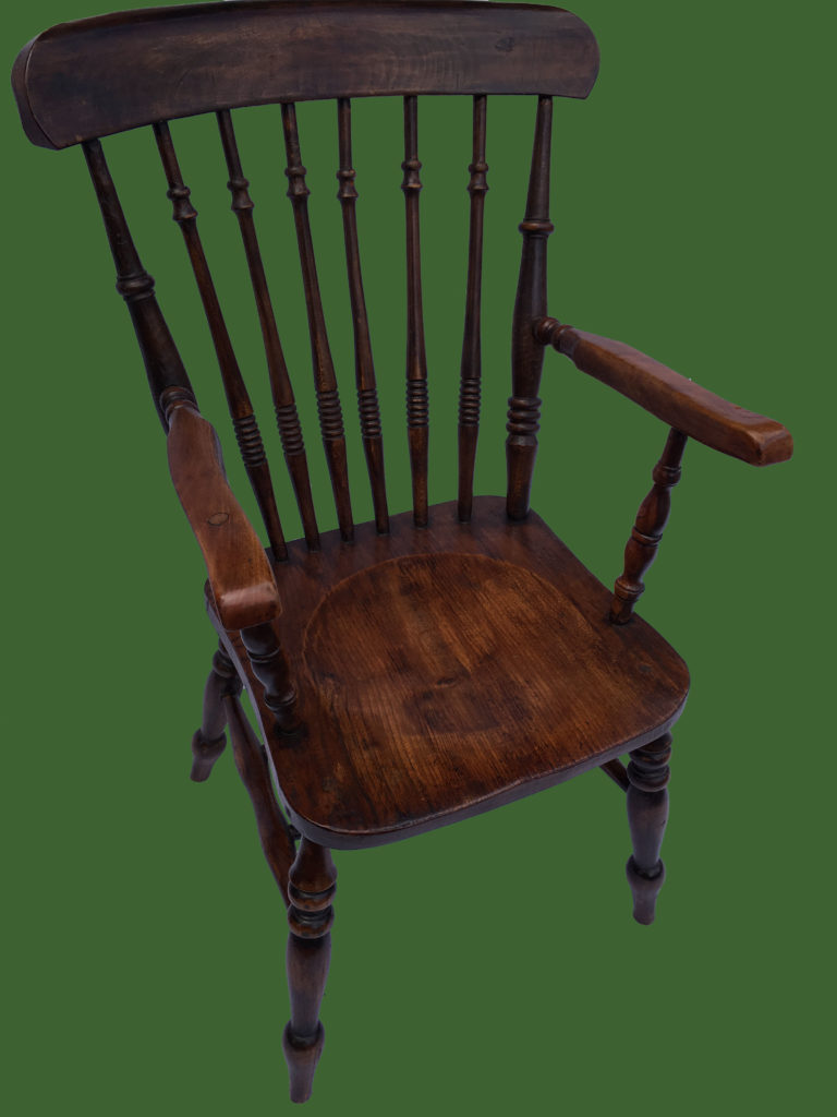 C19th Spindle Back Chair