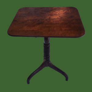 Mahogany Snap Top Table