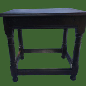 C18th Oak Side Table