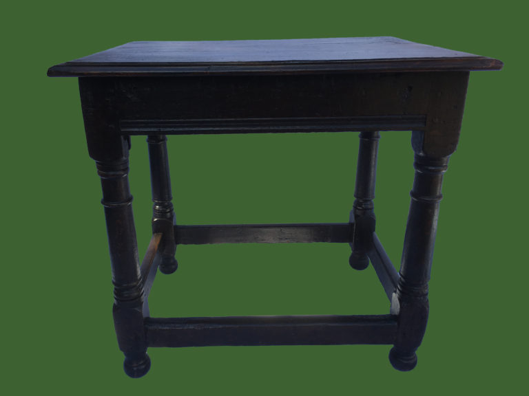 C18th Oak Side Table