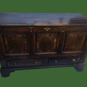 C18th Oak Mule Chest