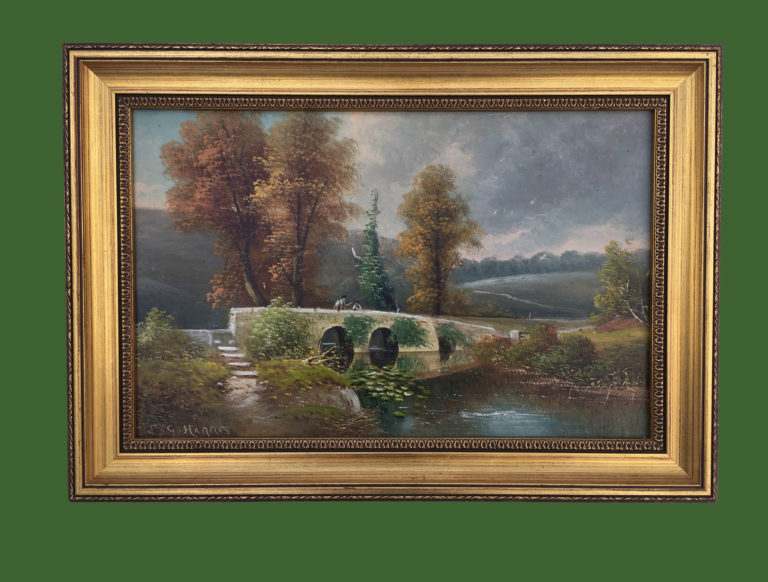 George Harris Oil Painting