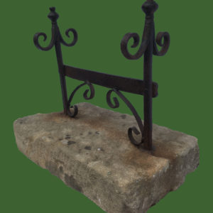 C19th Wrought Iron Boot Scraper