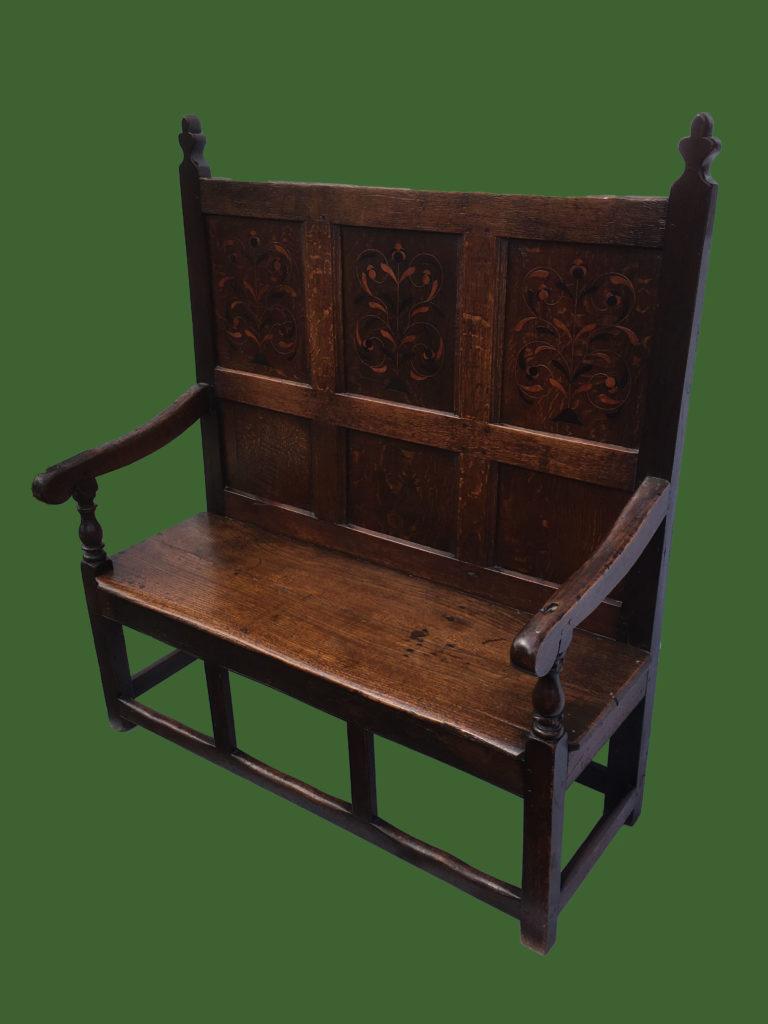 Oak Bench Settle