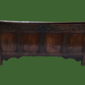 C17th Oak Coffer
