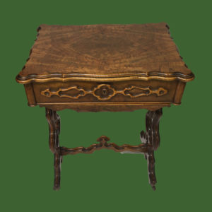 C19th Walnut Worktable