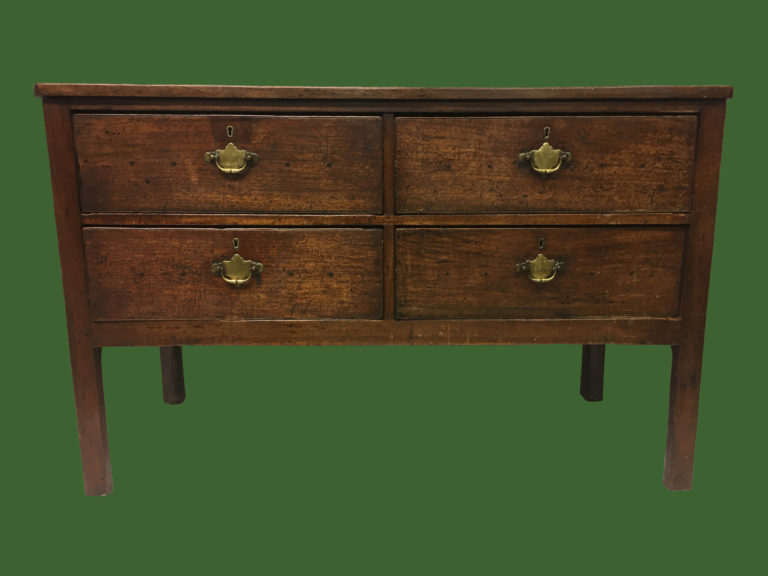 C18th Raised Chest of Drawers