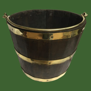 Oak Coopered Bucket