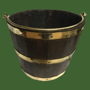 Oak Coopered Bucket