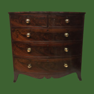 Bow Front Chest of Drawers