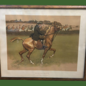 Lionel Edwards Hunting Print
