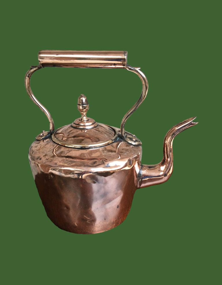 C19th Copper Kettle