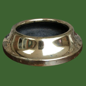 C19th Brass Spittoon