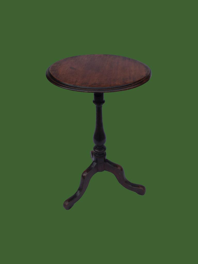 C18th Oak Lamp Table