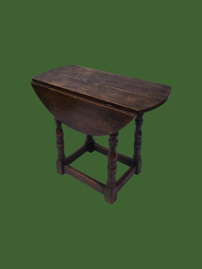 C19th Circular Pembroke Table