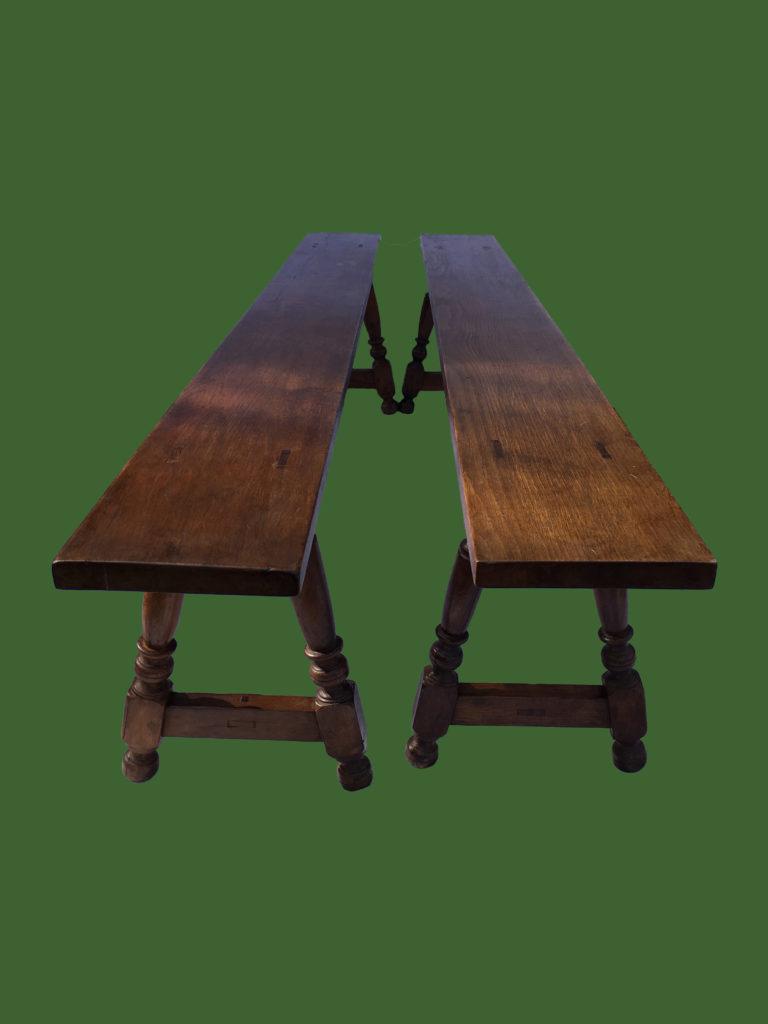 C19th Oak Benches