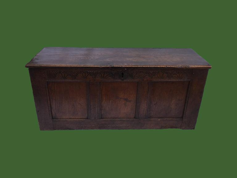 Oak Panel Coffer