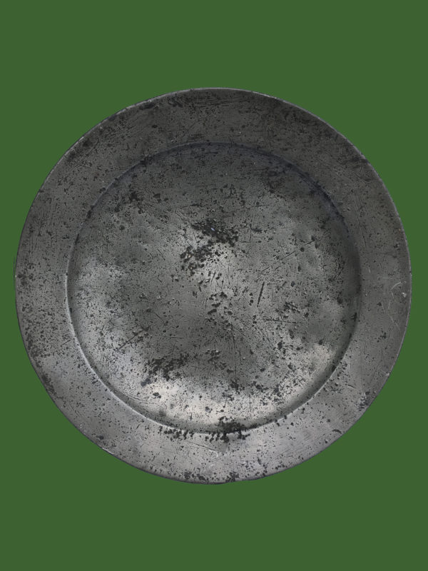 C18th Pewter Charger
