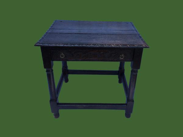 C17th Oak Side Table