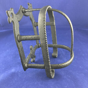 Wrought Iron Bridle Rack