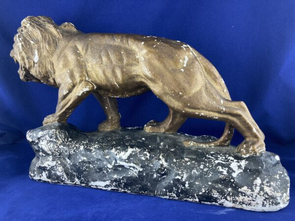 Plaster Lion Statue